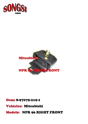 MITSUBISHI NPR 96 RIGHT FRONT