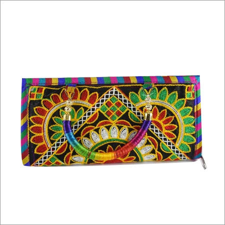Jaipuri Thread Work Clutch