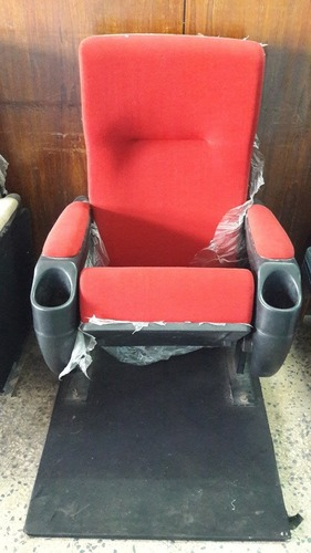 Red Color Theater Chair