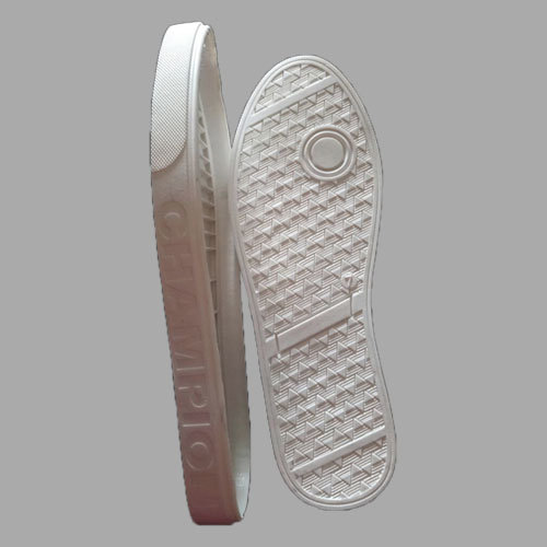 Mens White Canvas Shoes Sole