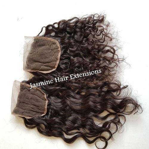 4x4 Deep Curly Lace Closure, Transparent