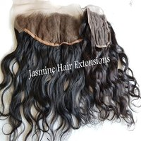Raw Indian Wavy Hair HD lace frontal Swiss Transparent Frontal
