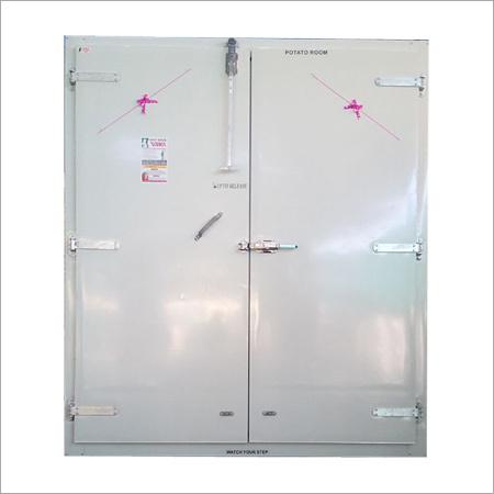 6 To 8 Feet Cold Storage Double Door