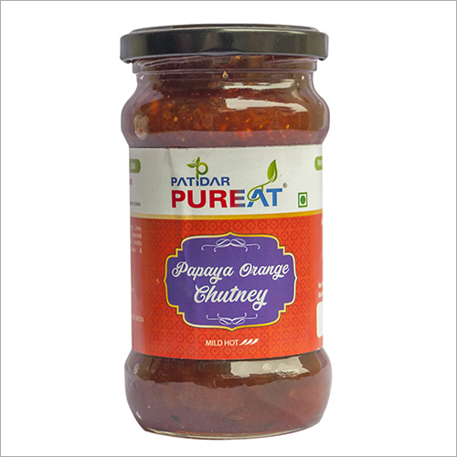 Papaya Orange Chutney