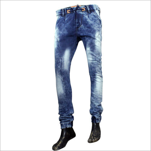 Mens Trendy Rugged Jeans