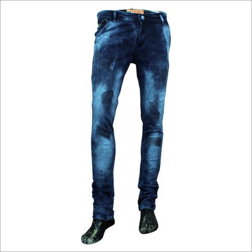 Mens Stylish Rugged Jeans
