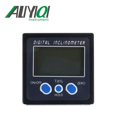 Digital Inclinometer with Magnetic Base