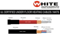 UL Approved Under Floor Heating Cables & Mats