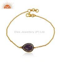Ca Aventurine Chain Bracelet Jewelry