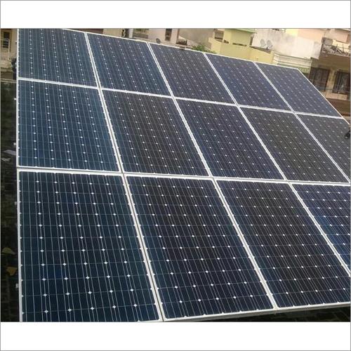 Solar Ongrid Plant With Monocrystalline Modules 4