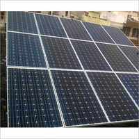 Solar Ongrid Plant With Monocrystalline Modules 4