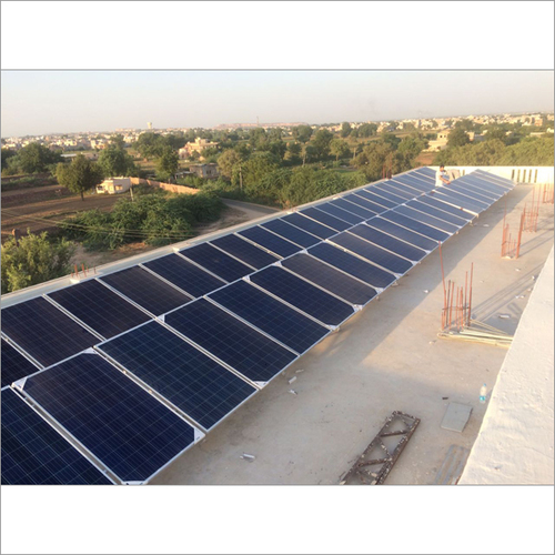 Solar Ongrid Plant Of 25 Kw At Institution