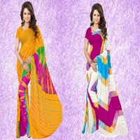 Fancy Shibori Print Saree