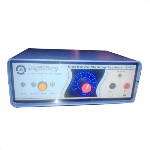 Electrolyte Marking Machine