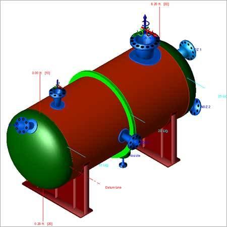 Horizontal Pressure Vessel Design