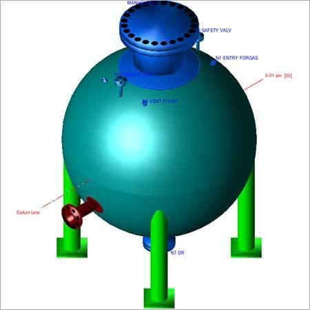 Spherical pressure Vessel Design
