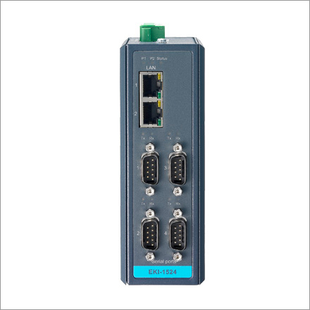 EKI-1524 Serial Device Servers (Serial to TCP-IP)