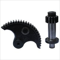 Half Gear Pinion Set