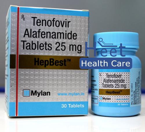 HepBest Tenofovir Alafenamide (TAF) 25mg