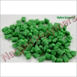 Nylon Green Glass FIlled Granules