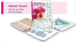 Velvet Touch Party Pack Napkins