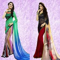 Fancy Designer Print Saree