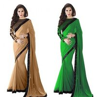 Fancy Lace Border Saree