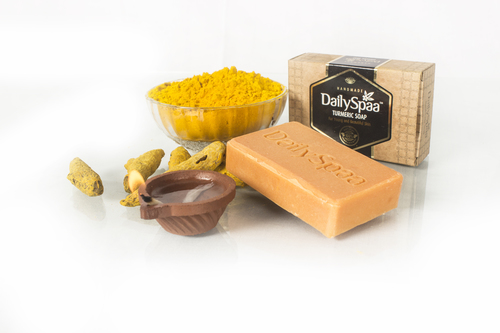 100% Natural Homemade Turmeric Soap