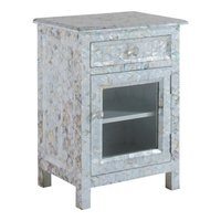 Mother of pearl bedside cabinet