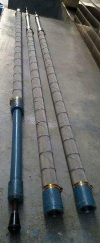 corrugation gas burner