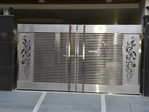 Stainles Steel Main Gate