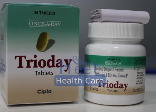Trioday Lamivudine, Tenofovir, Efavirenz
