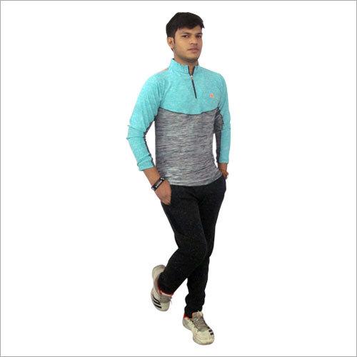 Mens Plain Full Sleeve Sports T Shirt