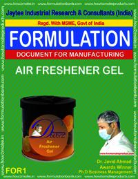Air Freshener Gel