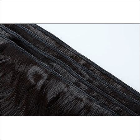 Single Machine Weft Human Hair