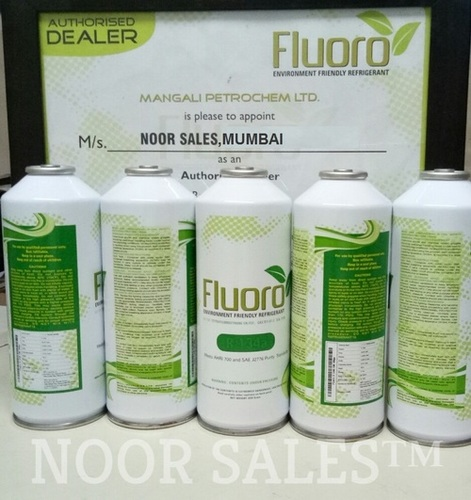 134A Fluoro Refrigerant Gas