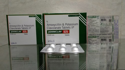 Amoxycillin & Potassium Clavulanate Tablets IP 625