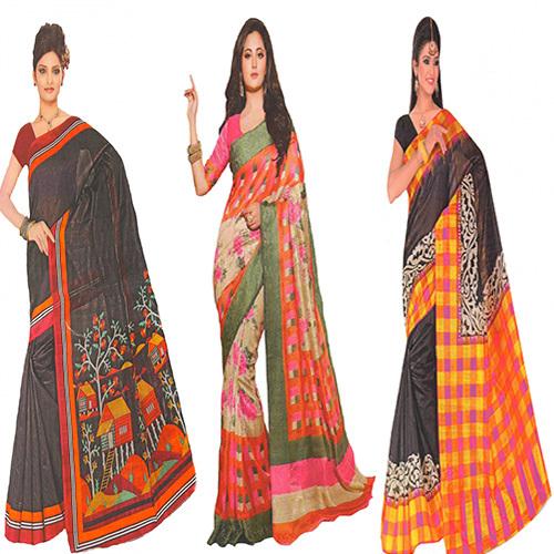 Vivacious Bhagalpuri Saree