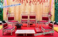 Mandap Chairs Set For Gujrati Wedding