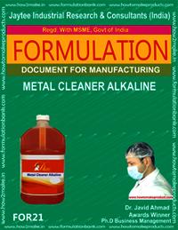 Metal Cleaner Alkaline