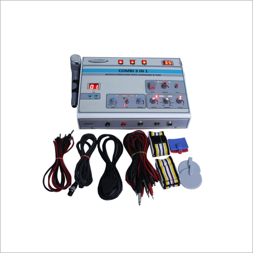 Ultrasonic Muscle Stimulator With TENS