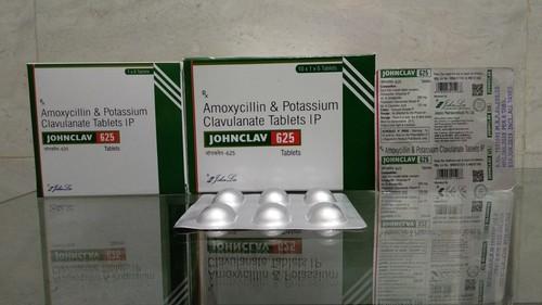 Amoxycillin & Potassium Clavulanate Tablets IP 625