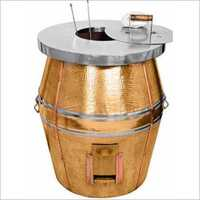 Copper Cladded Tandoor