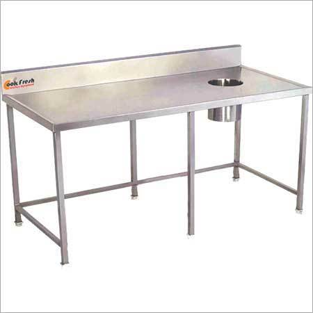 Soiled Dish Landing Table
