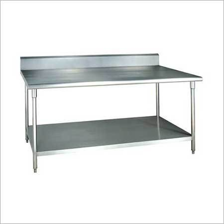 Work Table with Under Shelf