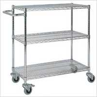 Mobile Wire Mesh Rack