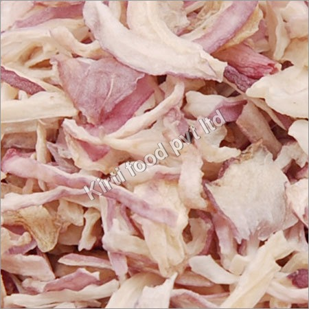 Dehydrated Pink Onion Flakes-Kibbled