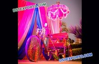 Bridal Entry Decorated Rickshaw With Umberala