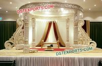 Latest Wedding Mandap With Paisleys Decor