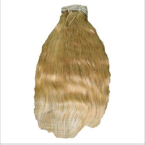 Blonde Weft Human Hair